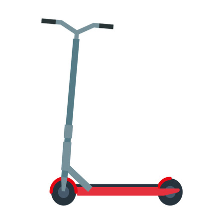 folding scooter isolated icon vector illustration design Imagens - 122996760