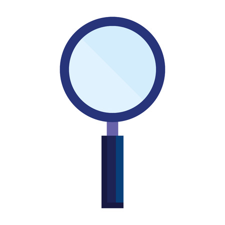 magnifying glass isolated icon vector illustration design Stock Vector - 121507435