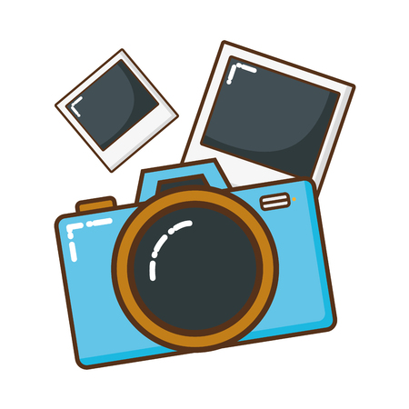 photographic camera isolated icon vector illustration design Stock Vector - 123002410