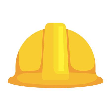 L'icône de protection de casque de construction conception d'illustration vectorielle