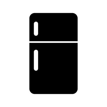 Appareil réfrigérateur icône isolé illustration vectorielle design Vecteurs