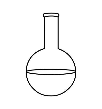 tube test isolated icon vector illustration design Foto de archivo - 121507523