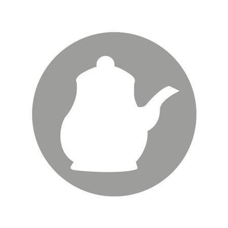 teapot drink isolated icon vector illustration design Ilustrace
