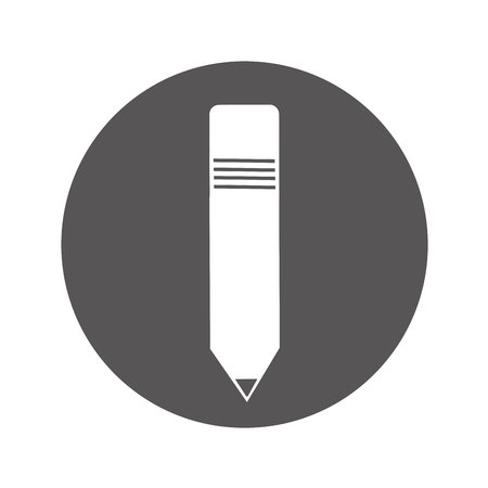 pencil school supply isolated icon vector illustration design  イラスト・ベクター素材