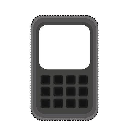 cell phone isolated icon vector illustration design Illusztráció
