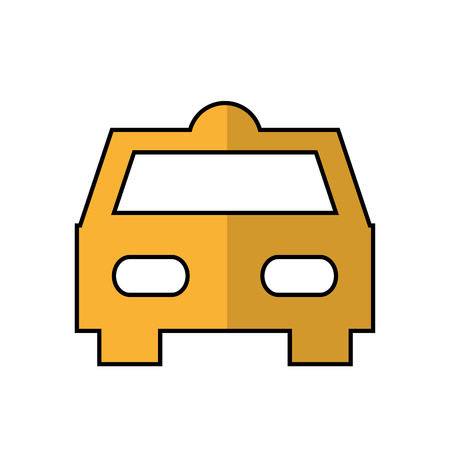 taxi car service isolated icon vector illustration design