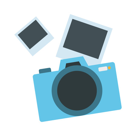 photographic camera isolated icon vector illustration desing