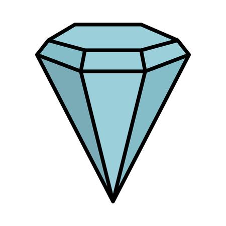 diamond luxury isolated icon vector illustration design Standard-Bild - 121563721