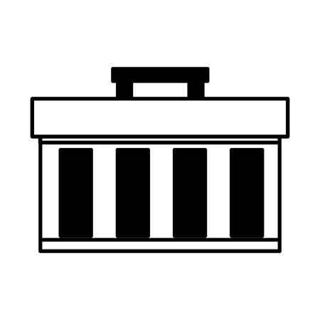 repair construction box on white background vector illustration Standard-Bild - 121611878