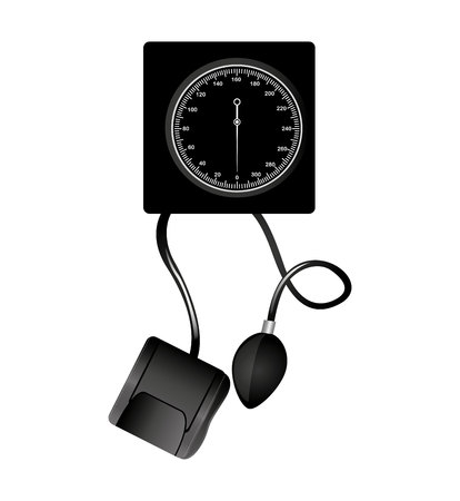 Blood pressure gauge isolated icon vector illustration design Reklamní fotografie - 122919364