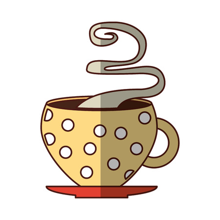 coffee cup drink isolated icon vector illustration design 일러스트