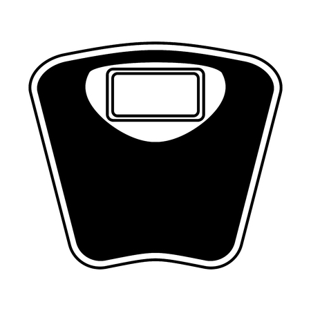 Balance balance icône numérique vector illustration design Vecteurs