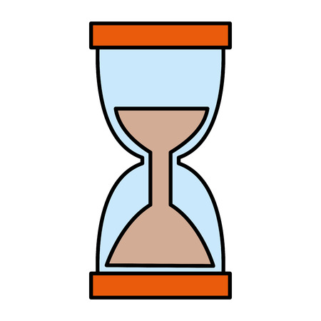 hourglass timer isolated icon vector illustration design Banque d'images - 122833862