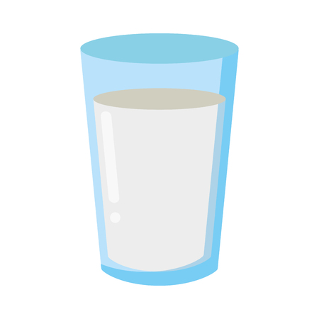 milk cup icon white background vector illustration