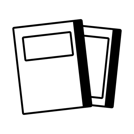 stack of books isolated icon vector illustration design 일러스트