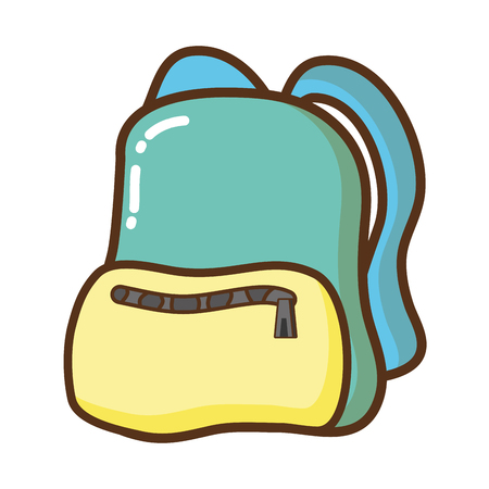 travel backpack isolated icon vector illustration design Stock fotó - 122834438