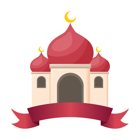 taj mahal ancient  india vector illustration design