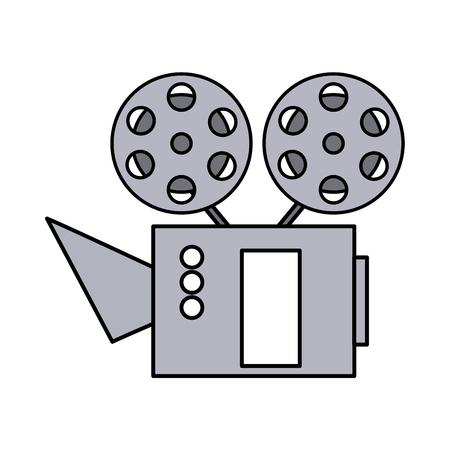 cinema projector isolated icon vector illustration design Illustration