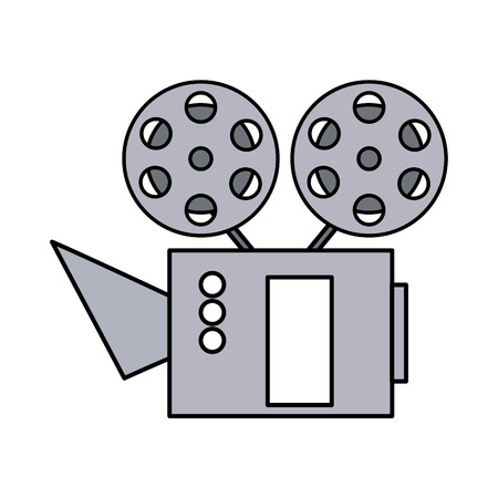 cinema projector isolated icon vector illustration design Illustration