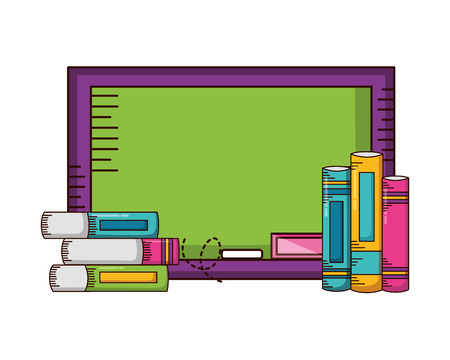board books school supplies vector illustration design 写真素材 - 122807356
