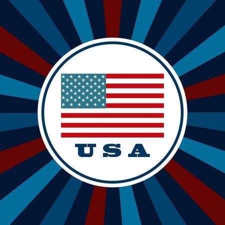 united states design, vector illustration eps10 graphic Vector Illustration