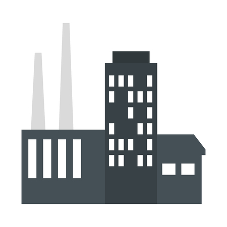 building factory scene icon vector illustration design Stockfoto - 122808366