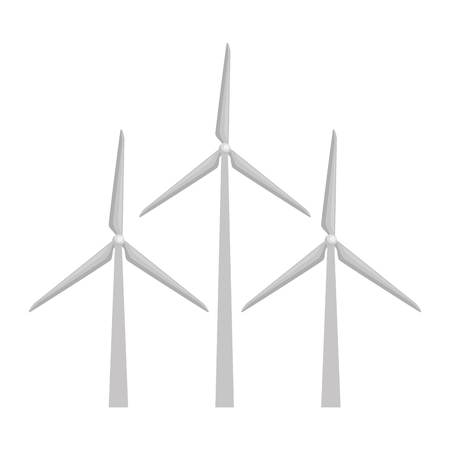 wind energy isolated icon vector illustration design