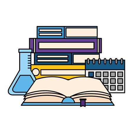 open book isolated icon vector illustration design Stock Illustratie