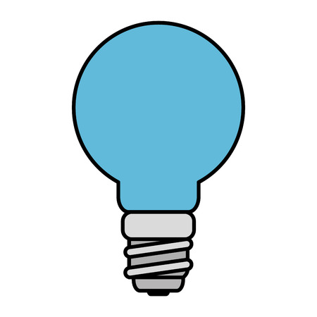 saver bulb energy icon vector illustration design 向量圖像
