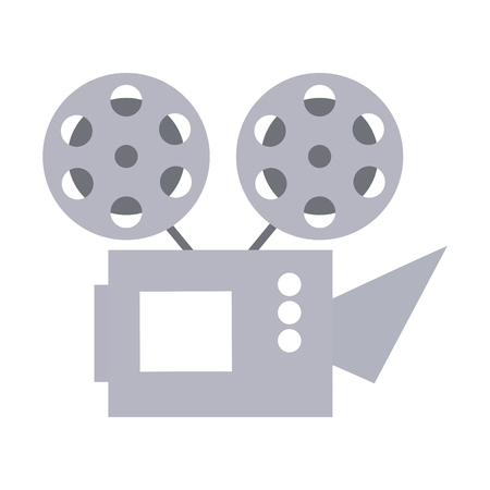 cinema projector isolated icon vector illustration design Vectores