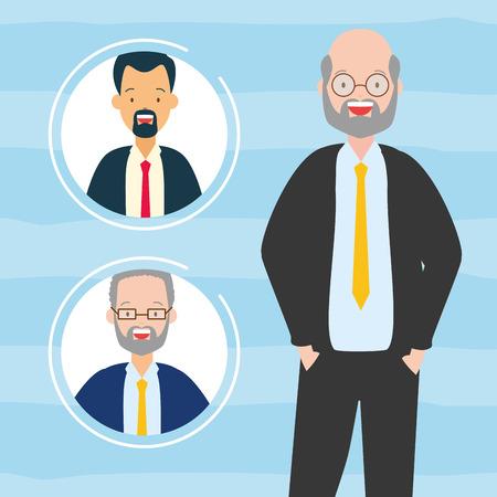 diversity man men people vector illustration design