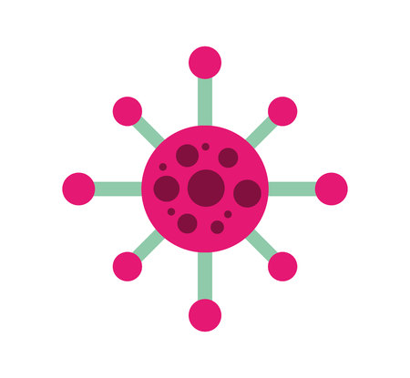 molecule structure isolated icon vector illustration design Stock Illustratie