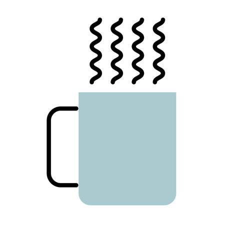 coffee cup drink isolated icon vector illustration design Çizim