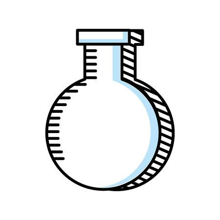 tube test isolated icon vector illustration design Foto de archivo - 122711944