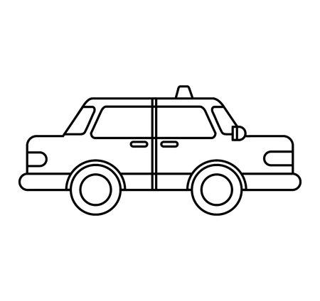 taxi service public icon vector illustration design Stock Vector - 122711953