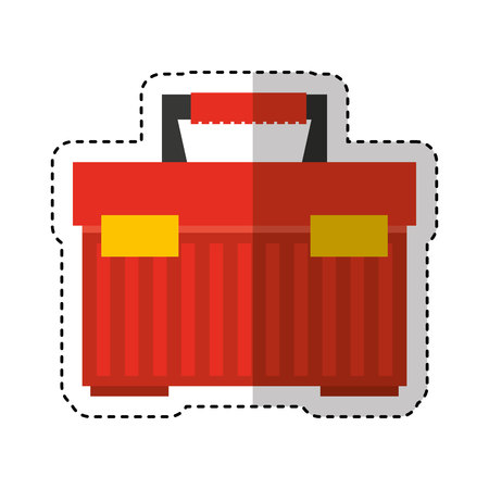 toolbox kit isolated icon vector illustration design Standard-Bild - 122712192