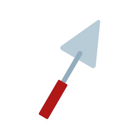 spatula tool icon on white background vector illustration