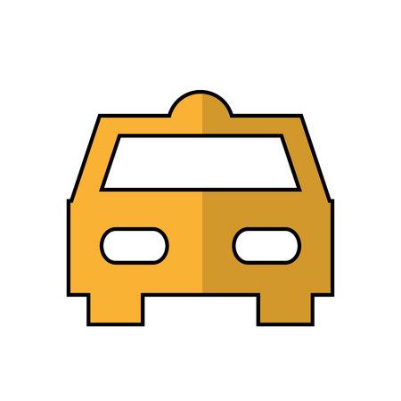 taxi car service isolated icon vector illustration design Standard-Bild - 122712236