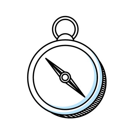 compass guide isolated icon vector illustration design Çizim