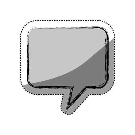 speech buble isolated icon vector illustration design Иллюстрация