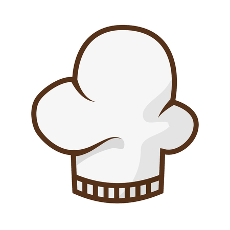 chef hat isolated icon vector illustration design Banque d'images - 122637813