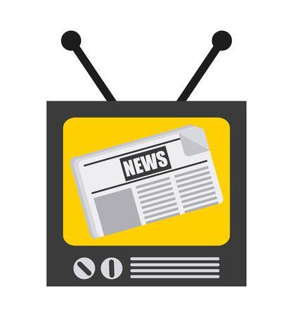 breaking news design, vector illustration eps10 graphic