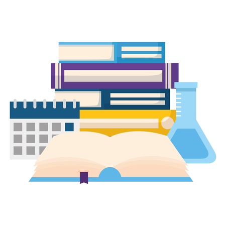 open book isolated icon vector illustration design 向量圖像