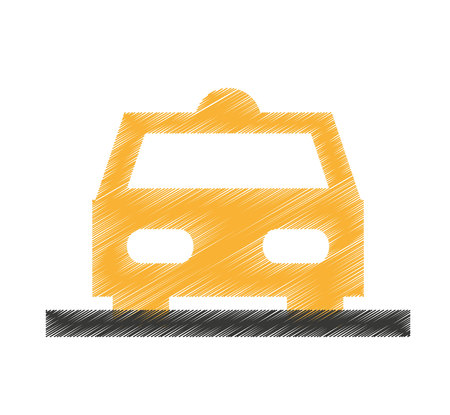 taxi car service isolated icon vector illustration design Standard-Bild - 121930208
