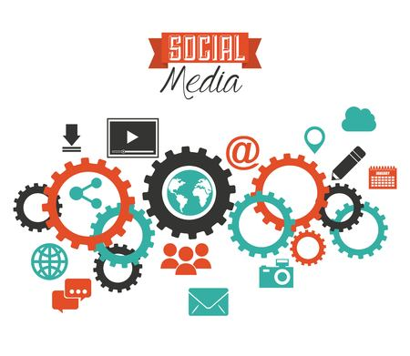 social media design, vector illustration graphic