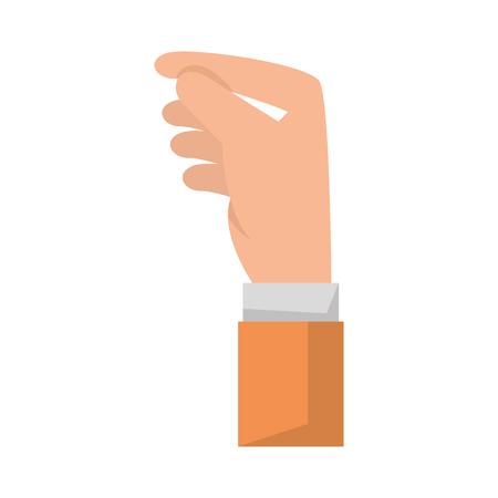 hand human receiving icon vector illustration design Ilustração