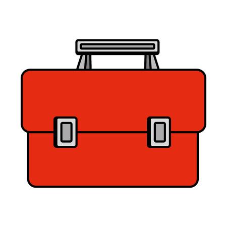 tools box handle icon vector illustration design 免版税图像 - 122580528