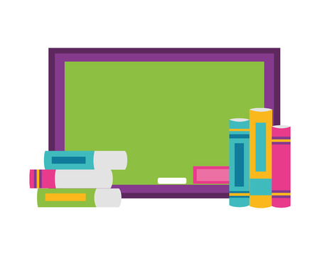 board books school supplies vector illustration design Illusztráció