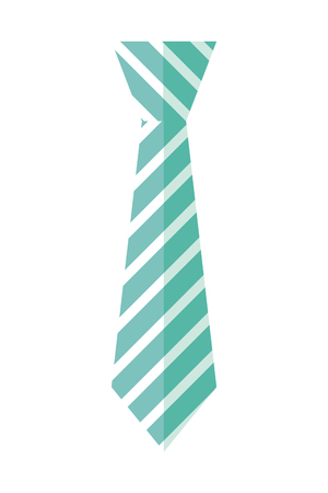 tie accessory for men vector illustration design Stock Vector - 122580756