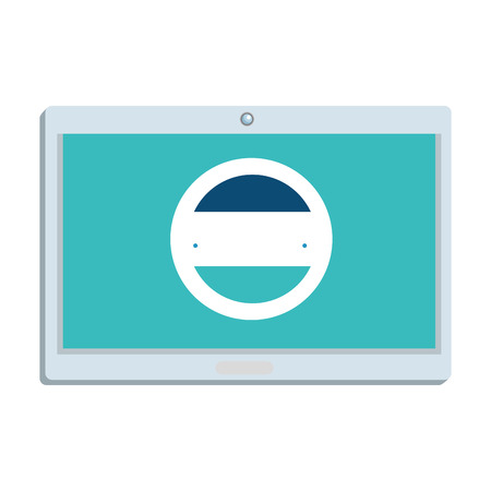 tablet device electronic icon vector illustration design Иллюстрация